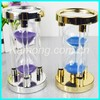 Exquisite 5 minutes mini hourglass for the home table decoration
