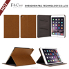 Ultra slim pu leather card holder stand folio cover for ipad mini 4 tablet case