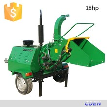 China supplier 18-50hp Diesel Wood Chipper shredder machine