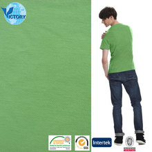 100% Cotton Double Pique Knitted Fabric PK Mesh for Polo Shirt