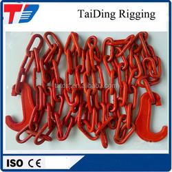 G80 long link lashing chain / alloy steel lashing chain