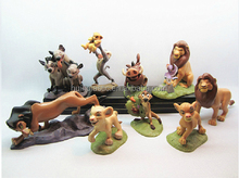 Wholesale movie characters simba cartoon plastic pvc figurine from The Lion King