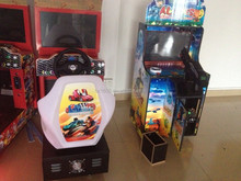 coin operated driving simulator sonic arcade car racing game machine