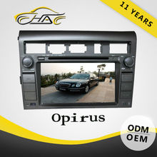 7 inch double din car gps bulit in dvd player with bluetooth for opirus