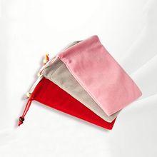 Mini Personalized velvet gift bag For Wedding