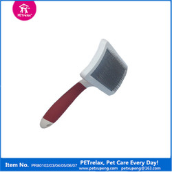 2015 new pet dog products Dog Grooming Plastic Brush from China