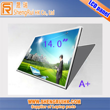 Hot sale laptop screen 14.0 inch led HB140WH1-505 for DELL