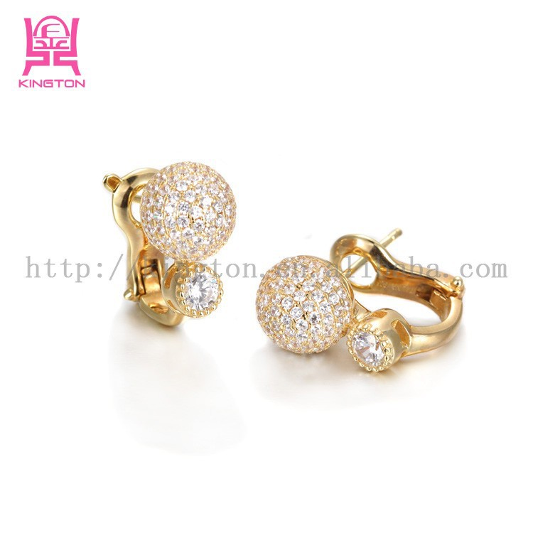 Latest gold earrings design ~ beautify themselves with earrings