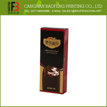 Factory Price Foldable Hot Selling Chocolate Truffle Boxes