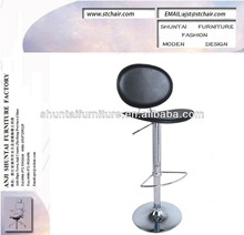 hard PVC leather bar stools /hot selling bar chair /used commercial bar stool/ industrial metal chair/plywood bar stool
