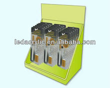 Acrylic E-cigarette Holders Display Box with Hooks