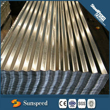 Corrugated galvanized steel sheet corrugated metal roof