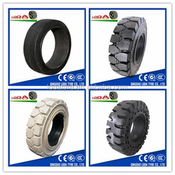 solid forklift tyre 7.50-15 for industry