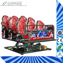 Theme Park Popular Indoor Playground Equipment 7D Theater