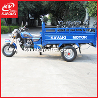 Guangzhou factory cargo tricycle/three wheel motorcycle/ adult cargo carrier tricycle with cheap cost