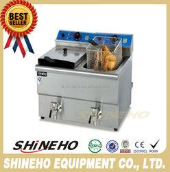 counter top chicken/potato chips deep fryer machine
