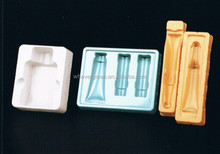 Airline tableware disposable plastic fruit tray with natrual color Plastic container