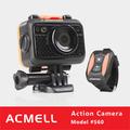 S60 wi fi pesca submarina câmera de vídeo com SOS LED de alto brilho