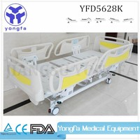 YFD5628K ISO CE Approved Luxury hospital five function electronic ICU hospital bed icu hospital bed