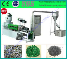 certification complete plastic recycling machine