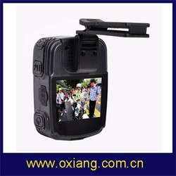 2.0 inch waterproof full HD1080P mini portable police camera recorder ZP606 can be with GPS/GPRS