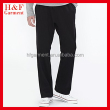 Fleece fabric sport pants made of cotton/polyester for men