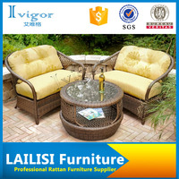 Patio modular rattan 2+1 sofa furniture/garden furniture