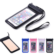 PVC Material for Apple iPhones Compatible Brand mobile phone water proof case, Universal Waterproof case for phone