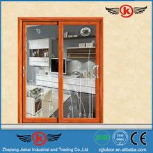 JK-AW9147 insulated aluminum sliding door fine quality
