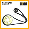 BAJAJ TVS SUZUKI AX100 chain, 428/ 428H chain, motorcycle chain and sprocket sets, sprocket 41T/13T, with OEM quality