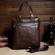 new fashion leather office bags for men