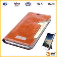 New arrival dust prevention OEM & ODM leather flip case for huawei ascend mate