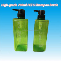 700ml High-quality Fast Delivery Lowe Price PETG Shampoo Bottle with PP Dispense Pump