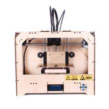 Economical ABS&PLA Dual-extruder Desktop 3D Printer