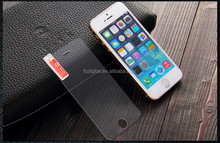 Best selling best service accept paypal!9H 0.3mm 2.5D tempered glass film screen protector for iPhone 5/5s