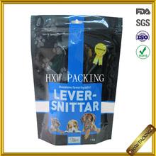china factory side gusset plastic dog food bag, dog food 20kg bag