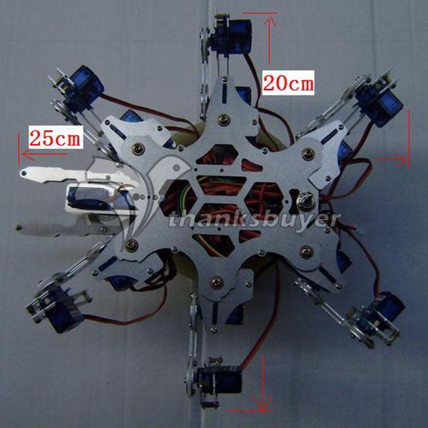 Робот паук на радиоуправлении своими руками 47