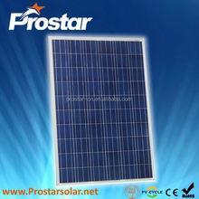 Prostar poly price of a solar cell 250W PPS250W