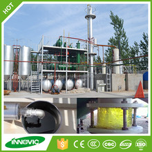 Advanced High Quality Refinery Distillation Plant For Recycling Of Waste Oil