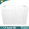 Hot sale cUPC approved arcylic walk in bathtub with seat
