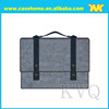 Business style wool felt tablet sleeve with handle laptop bags pouch at any size