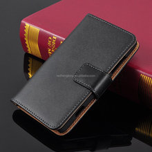 Factory Price Genuine Wallet Flip Leather Phone Case for Nokia 820