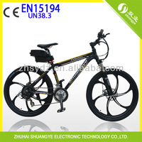 engine powered electric bicycle with rechargeable 48v 10ah battery and 48v 500w motor