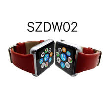 Fctory Wholesale Hand Watch Mobile Phone Price, SIEZEND Fitness Tracker Genuine Leather Hand Watch Mobile Phone Price/