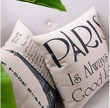 Create For-Life Cotton Linen Decorative Pillow case Cushion Cover