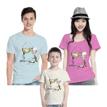 100% cotton custom couple t shirt