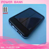 Mobile Phone Solar Charger 5000mAh,High Quality Solar Charger with CE,Rohs,FCC Certificates