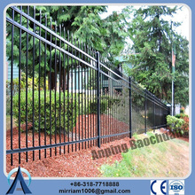 Metal Ornamental Fence Steel Bar Fencing fence at Sports Field