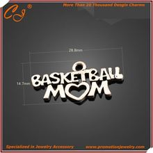 Over 20000 Designs Craft Personalized basketball mom charm Manufacture from Guangdong