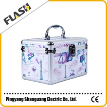 New Product Aluminium Beauty Makeup case Jewelry Box